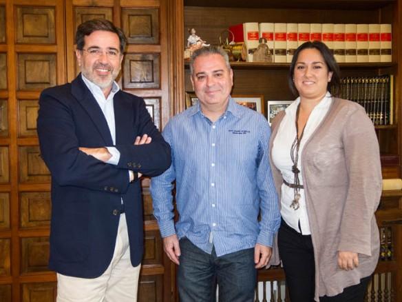 Alfredo Castelló, Santos Moreno y Maribel Sáez
